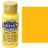 Picture of Gloss Enamel Paint Primary Yellow