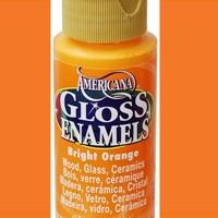 Picture of Gloss Enamel Paint Bright Orange