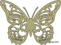 Εικόνα του Butterfly - Chipboard