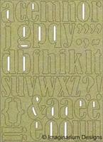 Εικόνα του Lower case letters 32mm (37 plus per sheet) -  Chipboard