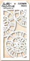 Picture of Layering Stencil Clockwork- Tim Holtz