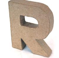 Εικόνα του 3D Γράμματα 10cm Γράμματα - R
