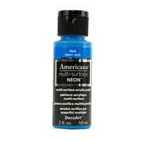 Picture of Multi - Surface Satin Paint Neon Blue