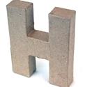 Picture of 3D Γράμματα 10cm Γράμματα - H