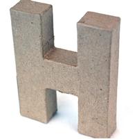 Εικόνα του 3D Γράμματα 10cm Γράμματα - H