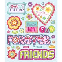 Picture of Mini Accent Stickers - Best Friends