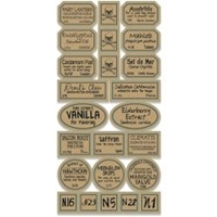 Picture of Apothecary Labels - Chemistry