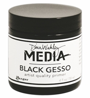 Picture of Dina Wakley Black Gesso 4 oz.