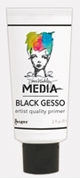 Picture of Dina Wakley Black Gesso 2 oz.