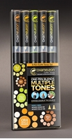 Picture of Chameleon Color Tones - 5 Pen Earth Tones Set