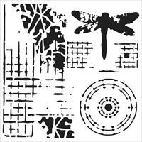 Εικόνα του Crafter's Workshop Template 15x15 - Screen Print