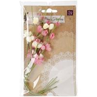 Εικόνα του Lyric Fabric Flower Vine - Dark Pink
