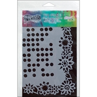 Picture of Dyan Reaveley's Dylusions Stencils - Dotted Flowers