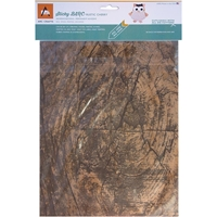 Picture of BARC Wood Sheet W/Adhesive Backing - Rustic Cherry