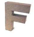 Picture of 3D Γράμματα 10cm Γράμματα - F