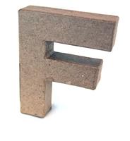 Εικόνα του 3D Γράμματα 10cm Γράμματα - F