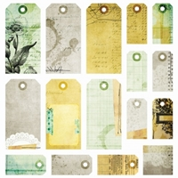 Picture of Lost and Found - Tags 12X12