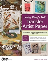 Picture of Lesley Riley's TAP Transfer Artist Paper