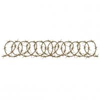 Εικόνα του Chipboard - Barbed Wire Border 4