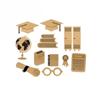 Εικόνα του Wood Veneer - Graduation Set