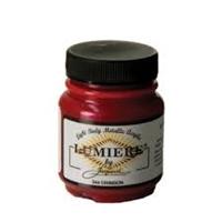 Εικόνα του Lumiere Metallic Acrylic Paint 2.25oz - Crimson