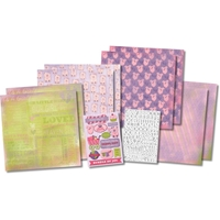 Picture of Scrapbook Page Kit - It's a Girl