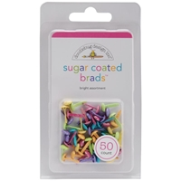 """Picture of Doodlebug Sugar Coated Brads .25"""""""
