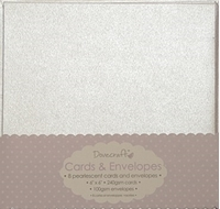 Picture of Dovecraft Cards & Envelopes: Pearlescent 15 X 15