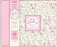 Picture of First Edition Scrapbook Album - It's a Girl