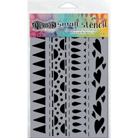 Picture of Dyan Reaveley's Dylusions Stencils - Heart Border Small