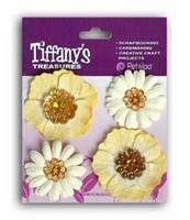 Εικόνα του Flower Charms - Topaz Gold