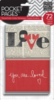 Picture of Pocket Pages Themed Cards 72/Pkg - You are Loved