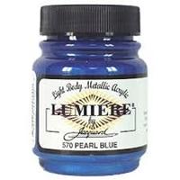 Εικόνα του Lumiere Metallic Acrylic Paint 2.25oz - Pearlescent Blue