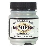 Εικόνα του Lumiere Metallic Acrylic Paint 2.25oz - Metalic Silver