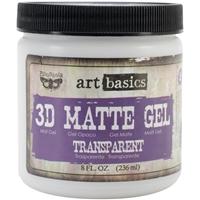 Picture of Finnabair Art Basics 3D Matte Gel Medium - Transparent