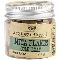 Picture of Finnabair Art Ingredients Mica Flakes - Gold Leaf