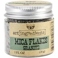 Εικόνα του Finnabair Art Ingredients Mica Flakes - Granite