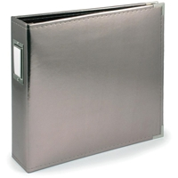 """Picture of Project Life Leather D-Ring Album 12""""X12""""  Platinum"""