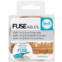"""Picture of FUSEables Decorate Tape 16.5"""" - Fringe/Kraft"""