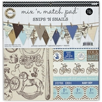 Picture of Mix & Match Pad - Snips n Snails