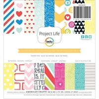 Picture of Project Life Paper Pad 15X15 - High Five Edition