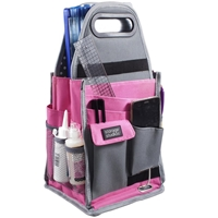 Picture of Storage Studios Spinning Craft Tote: Pink & Gray