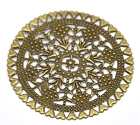 Picture of Filigree Round Wrap - Bronze