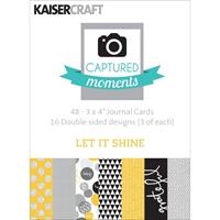 Εικόνα του Captured Moments 3x4 Cards - Let it Shine