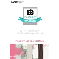 Picture of Captured Moments 4x6 Cards - Pretty Little Things