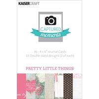 Εικόνα του Captured Moments 4x6 Cards - Pretty Little Things