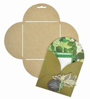 Picture of Envelope Templates - Flower
