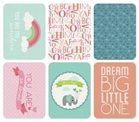 Εικόνα του Captured Moments 3x4 Cards - Hello Baby