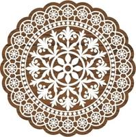 Εικόνα του Fabric Creations Block Printing Stamps - Medium Lace Doilie