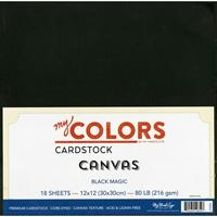 Picture of My Colors Classic Cardstock Bundle - Black Magic